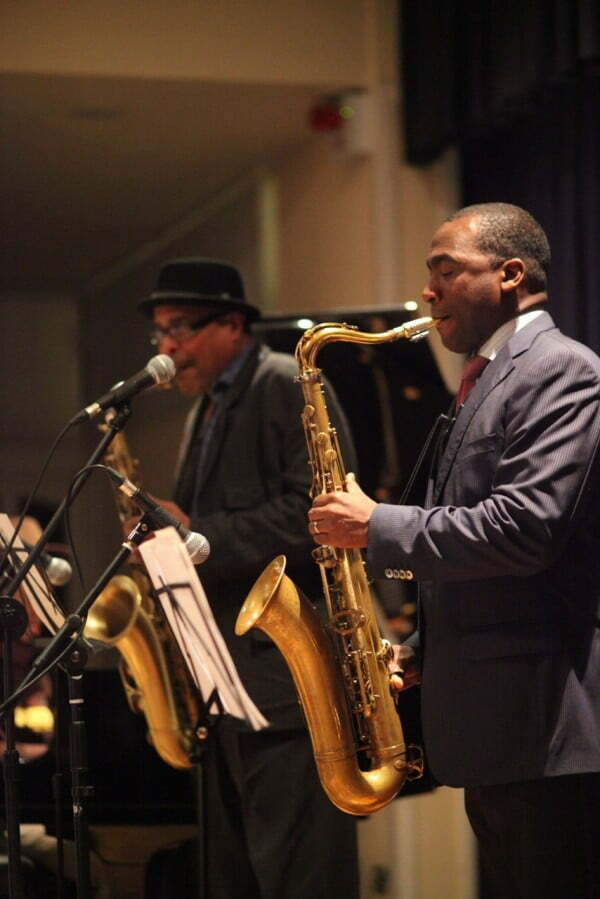 SAXOPHONE GIANTS – SELL OUT AT WATERMILL JAZZ CLUB