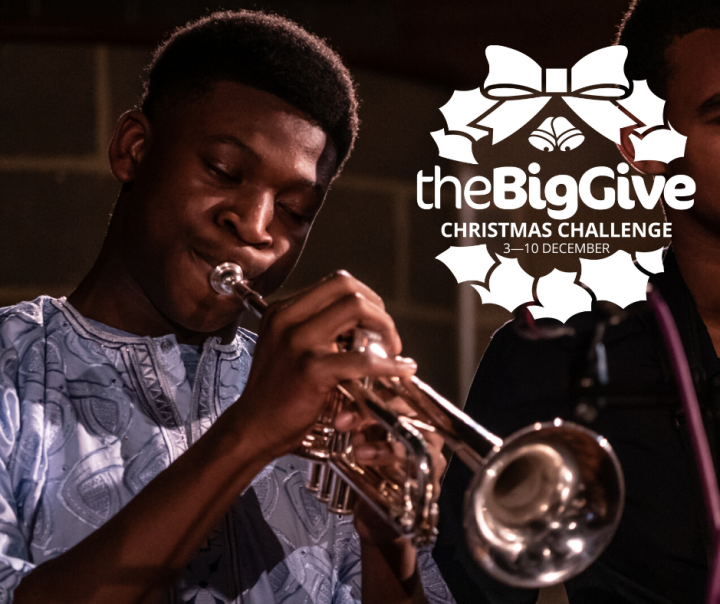 Double your donation & change young lives through music