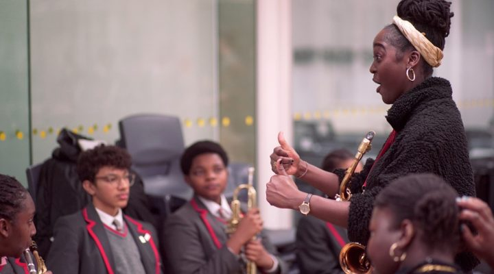 Future Sound 2020: inspiring the next generation of jazz musicians.